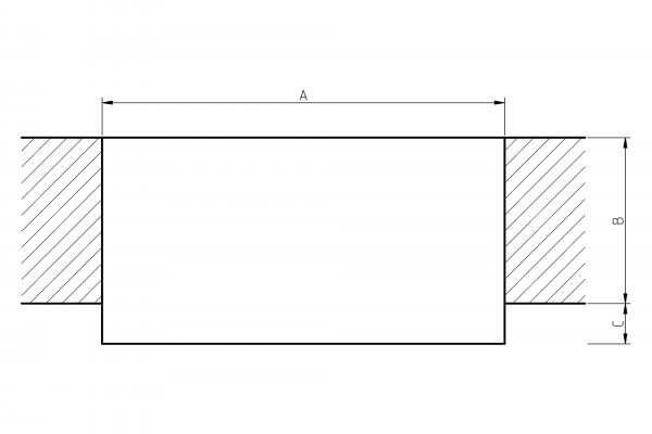 individuelle Holzfensterbank